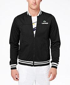 Lacoste Men's Piqué Full-Zip Tennis Track Jacket, Created for Macy's