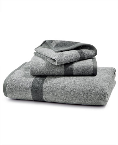 Creative Home Ideas Mingle Cotton Reversible Yarn-Dyed Fashion Bath Towel