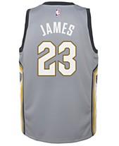 d3b1bd40aa0 Nike LeBron James Cleveland Cavaliers City Edition Swingman Jersey