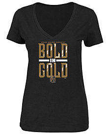 Majestic Women's Vegas Golden Knights Bold in Gold T-Shirt