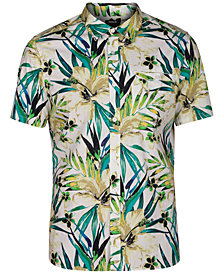 Hurley Men's Garden Top Button-Down Shirt