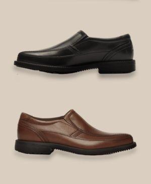 Rockport Men's Style Leader 2 Bike Toe Slip On Loafers Men's Shoes 1854730