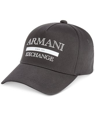 Armani Exchange Men's Logo Baseball Hat