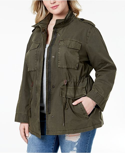 Levi's Plus Size Cotton Utility Jacket