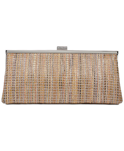 Calvin Klein Small Leather Evening Clutch