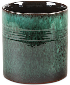 Home Essentials Reactive Glaze Green Utensil Crock