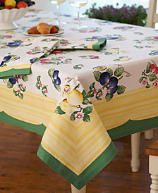 "Villeroy & Boch French Garden 68"" x 68"" Tablecloth"