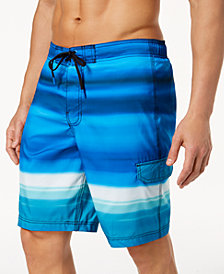"Speedo Men's Mirage Blend E-Board 7"" Swim Trunks"