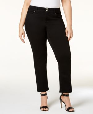 I.n.c. Plus Size Straight-Leg Jeans, Created for Macy's 5753743