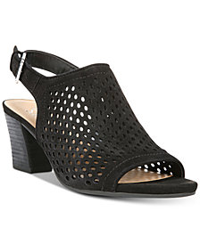 Franco Sarto Monaco Perforated Dress Sandals