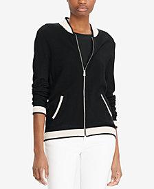Lauren Ralph Lauren Full-Zip Baseball Jacket