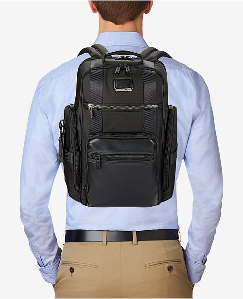 Tumi Men's Alpha Bravo Sheppard Deluxe Backpack & Reviews