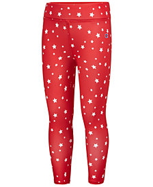 Champion Star-Print Capri Leggings, Little Girls