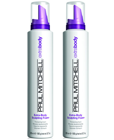 Paul Mitchell Extra Body Sculpting Foam Duo Two Items 6 7 Oz