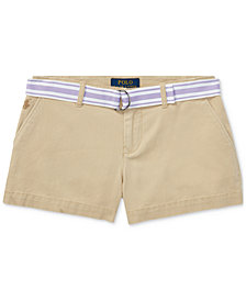 Ralph Lauren Chino Shorts, Big Girls
