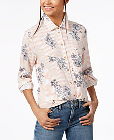 Polly & Esther Juniors' Printed Blouse