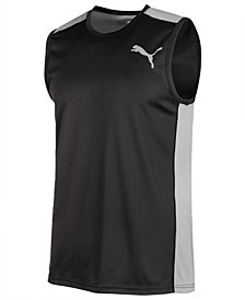 Puma Men's Stronger Colorblocked Training Tank Top