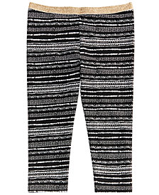 Epic Threads Printed Leggings, Little Girls, Created for Macy's
