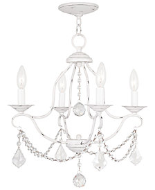 "Livex Chesterfield 18"" Chandelier"