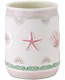 Avanti Coronado Hand-Painted Wastebasket