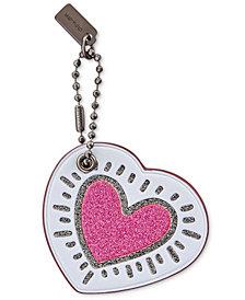 COACH Keith Haring Heart Hangtag
