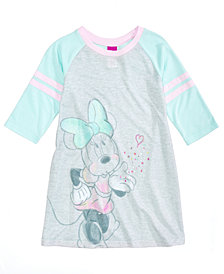 Disney's® Minnie Mouse Nightgown, Little Girls & Big Girls, Created for Macy's
