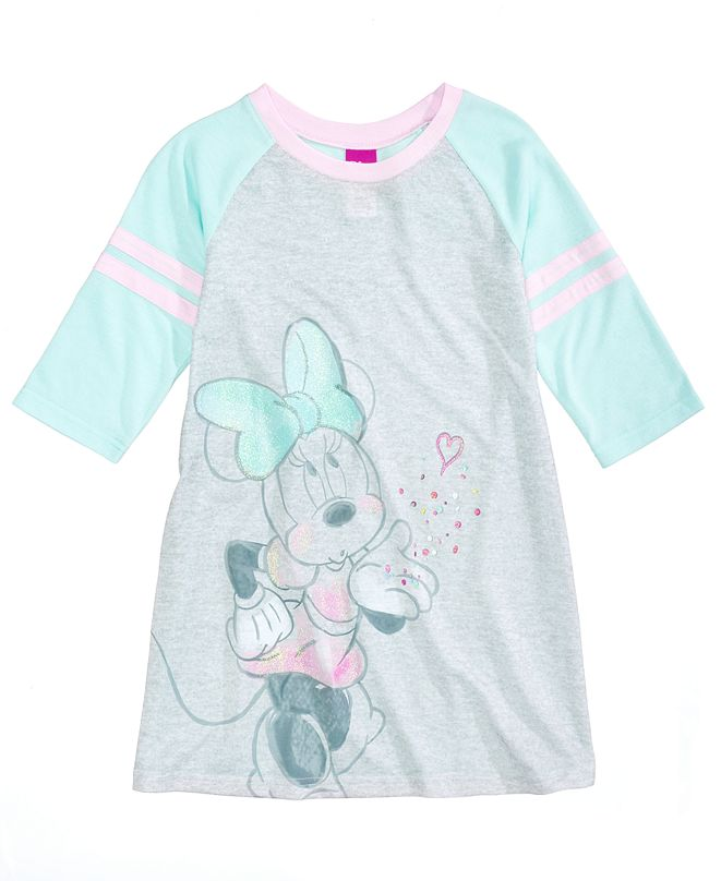 Minnie Mouse Disney's® Nightgown, Little Girls & Big Girls, Created for Macy's