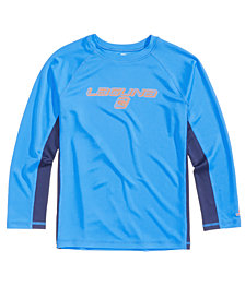 Laguna Surf Beat Colorblocked Rash Guard, Big Boys
