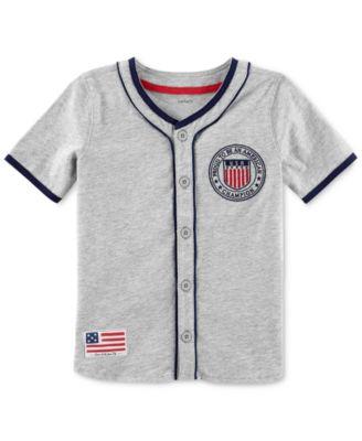 toddler baseball jersey