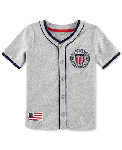 Carter's Cotton Baseball Jersey, Toddler Boys