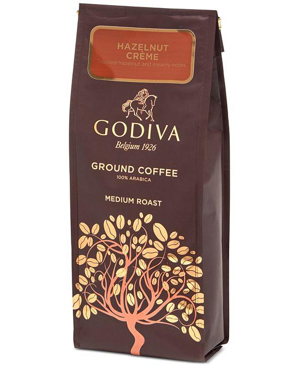 Godiva Hazelnut Crème Ground Coffee