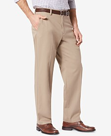 Dockers Men's Easy Relaxed Fit Khaki Stretch Pants