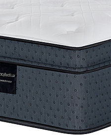 "MacyBed Lux Lovell 15"" Plush Euro Top Hybrid Mattress - King, Created for Macy's"