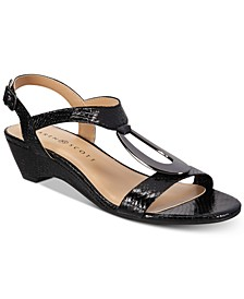 Carmeyy Wedge Sandals, Created for Macy's