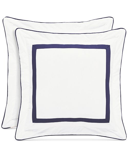 "Piper & Wright Betsy White 18"" Square Decorative Pillow"