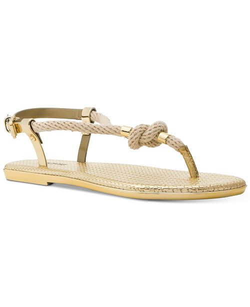 Michael Kors Holly Flat Jelly Sandals