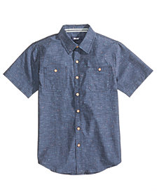 Univibe Radiator Cotton Shirt, Big Boys