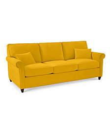 "Lidia 82"" Fabric Sofa - Custom Colors, Created for Macy's"