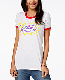 Hybrid Juniors' Rugrats Graphic-Print T-Shirt
