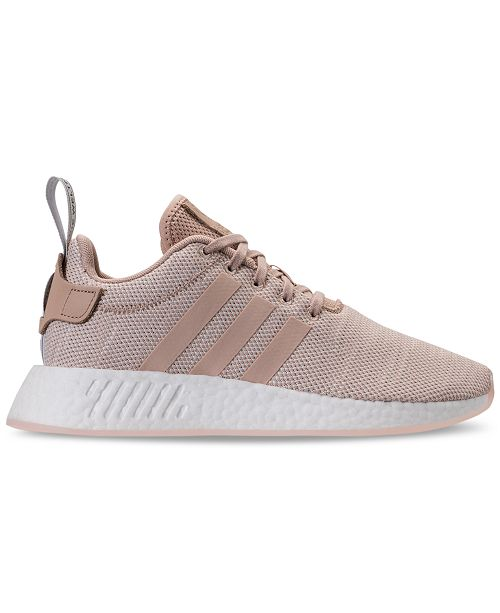 brand new 99767 bd28f adidas Women's NMD R2 Casual Sneakers from Finish Line ...