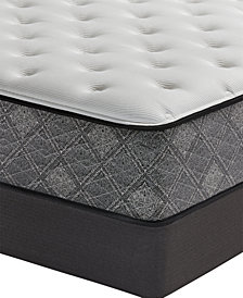 "MacyBed by Serta  Elite 13"" Plush Mattress Set - Queen, Created for Macy's"