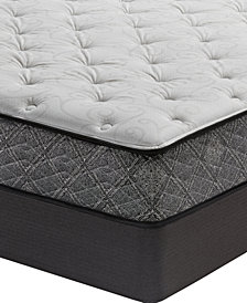 "MacyBed by Serta  Resort 10.5"" Plush Mattress Set- King, Created for Macy's"