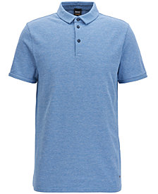 BOSS Men's Stretch Piqué Polo