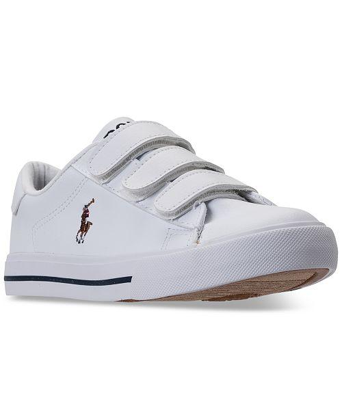 Polo Ralph Lauren Little Boys' Easten II EZ Casual Sneakers from Finish Line