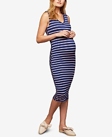 A Pea In The Pod Maternity Sheath Dress