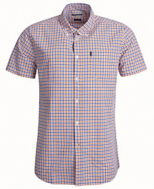 Barbour Men's Newton Tailored-Fit Seersucker Check Shirt