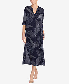 DKNY Printed Loose-Fitting Sleepshirt