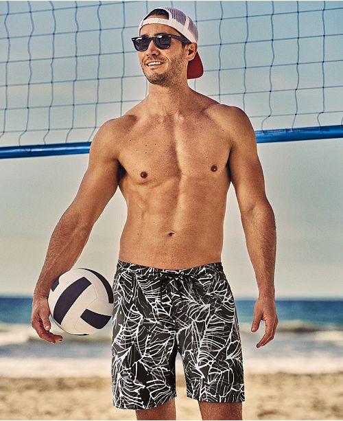 Speedo men 39 s travel well 7 39 39 swim trunks swimwear men macy 39 s for Travel swimsuit