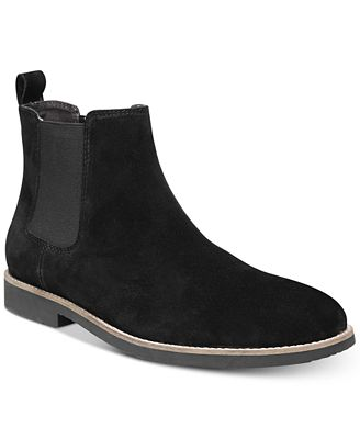 Dr. Scholl's Men's Credence Suede Chelsea Boots Men's Shoes
