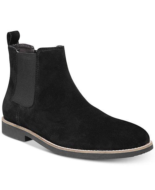 Dr. Scholl's Men's Credence Suede Chelsea Boots Men's Shoes vOnBkR10